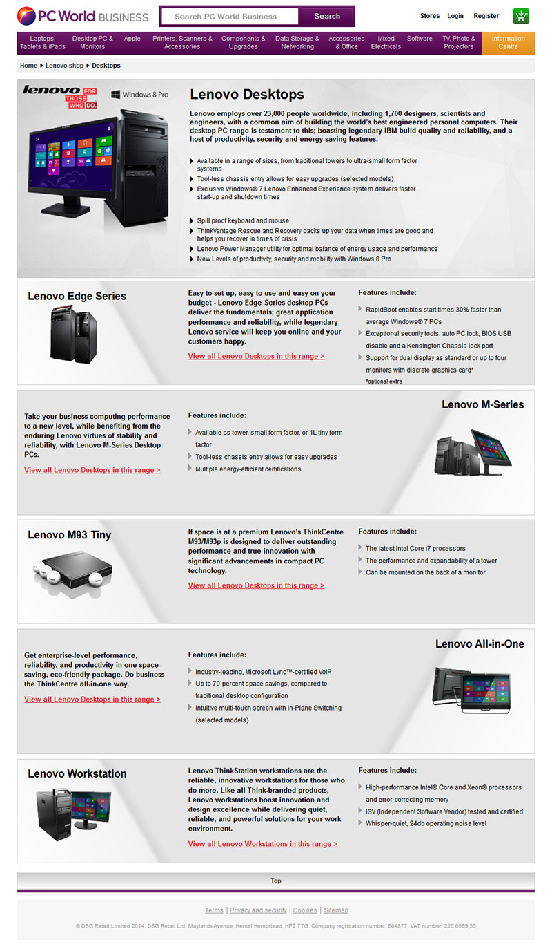 lenovo brand observation portfolio Lenovo provides unparalleled leadership in technology from mobile devices that  let you work where you need to, right to the heart of the data center where the.